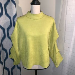 Tops - Lime Green Top